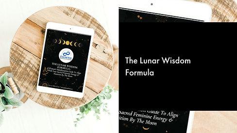 Lunar Wisdom Formula Promo