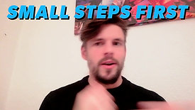 Small steps are the key to improving fitness!