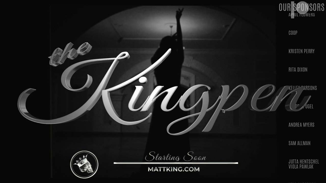 The Kingpen Live Stream Music Lounge