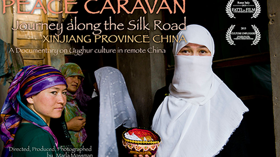 Trailer: Peace Caravan Journey Along the Silk Road: Xinjiang Province, China