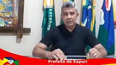 Prefeito convida a população idoso a partir de 60 anos a se vacinar em Xapuri