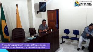 Vereadores promovem reunião entre agentes de saúde e endemias com a nova gestão municipal