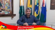 Prefeito Bira Vasconcelos fala sobre ramais