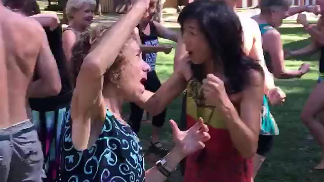 Laughter Yoga at California WorldFest 2017