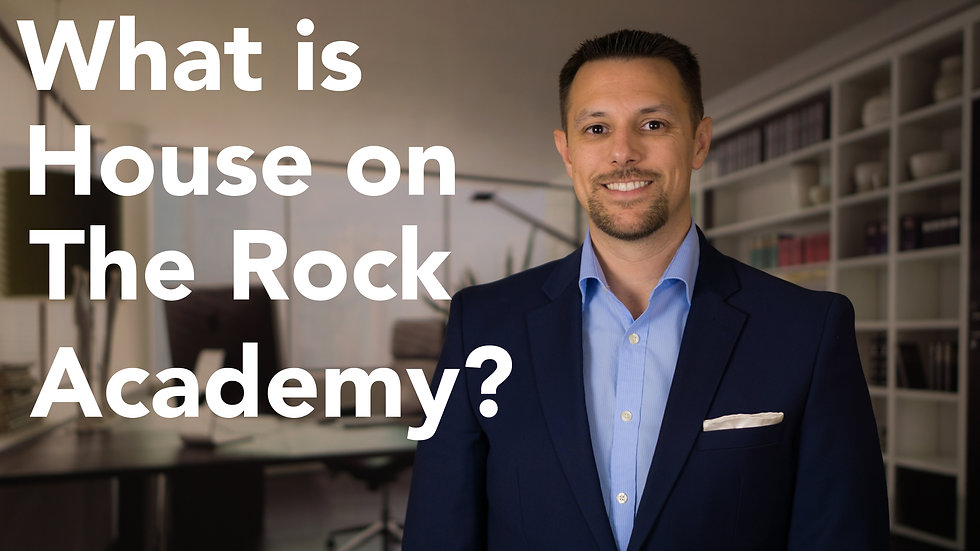 House on the Rock Academy - Leader