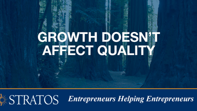 Growth Doesn't Affect Quality
