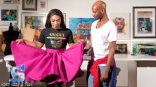 Sew Like A Pro - Jaylon's Full Circle Skirt (S01E06)