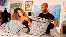 Sew Like A Pro - Toya's Pillows (S01E07)