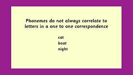 Phonics Phonemes