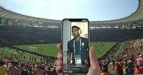 Augmented Reality Portal - Neymar