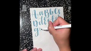 Introduction to Hand Lettering and Calligraphy: Class 2 of 3