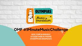 #OMF1Minute MusicChallenge - Day 30