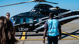 Here's what it's like to fly in an Uber helicopter