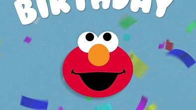 Elmo Birthday Gif - Funfetti