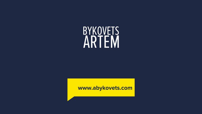 Artem Bykovets vlog