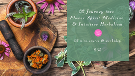 Journey into Flower Spirit Medicine and Intuitive Herbalism
