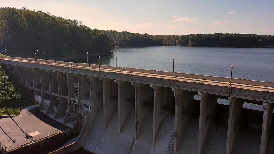 Tridelphia Dam