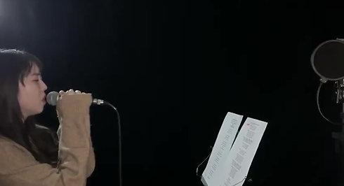 林俊傑 - 她說   (Live Cover) Gabrielle SHY (480p)