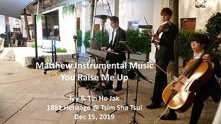You Raise Me Up (Violin + Cello + Piano)