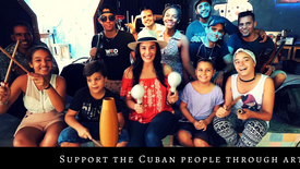 Support the Cuban people through Art