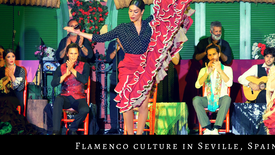 Flamenco culture in Seville, Spain