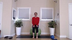 Prenatal Posture with Balls and Bands