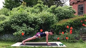 Pilates in the Garden Part 2