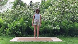 Pilates in the Garden Part 1