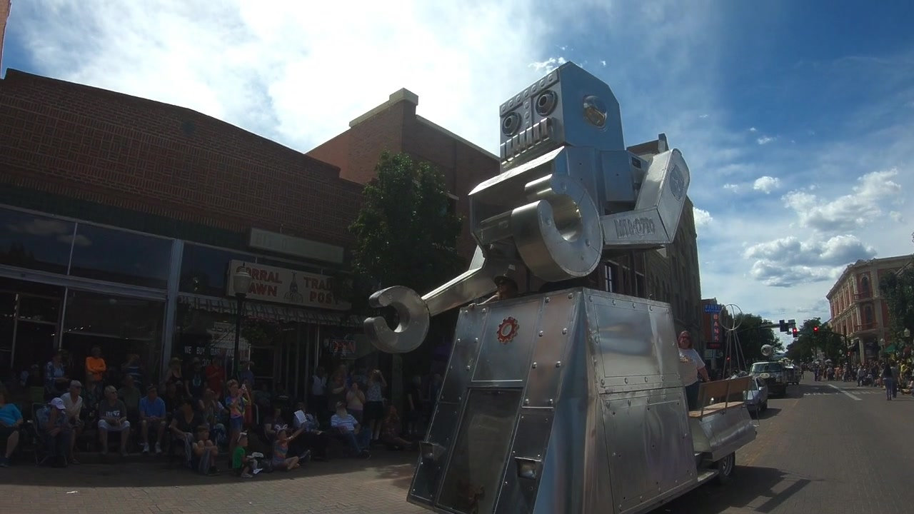 Artocade Art Car Parade 2019