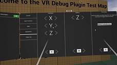 VR Debug Plugin Movements Module