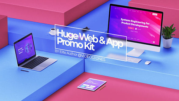Huge Website & App Promo Kit