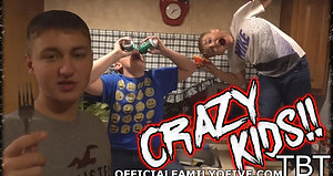 KIDS ACT CRAZY WHEN MOM AND DAD ARE GONE tbt