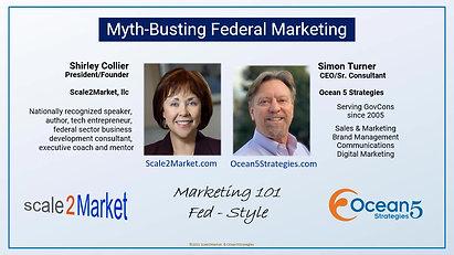 Myth-Busting Federal Marketing Webcast
