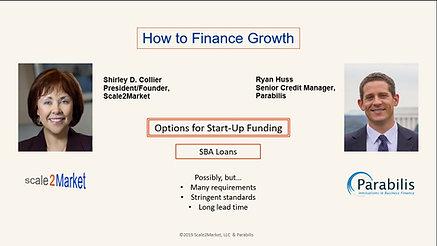 Creative Ways to Finance Growth