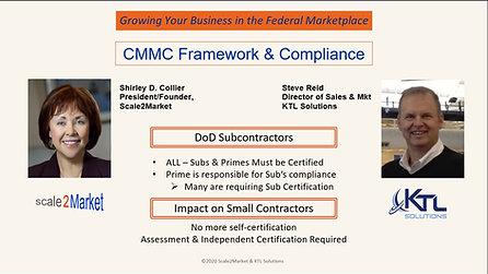 How CMMC Will Change DoD Business Development