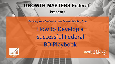How to Develop a Successful BD Playbook
