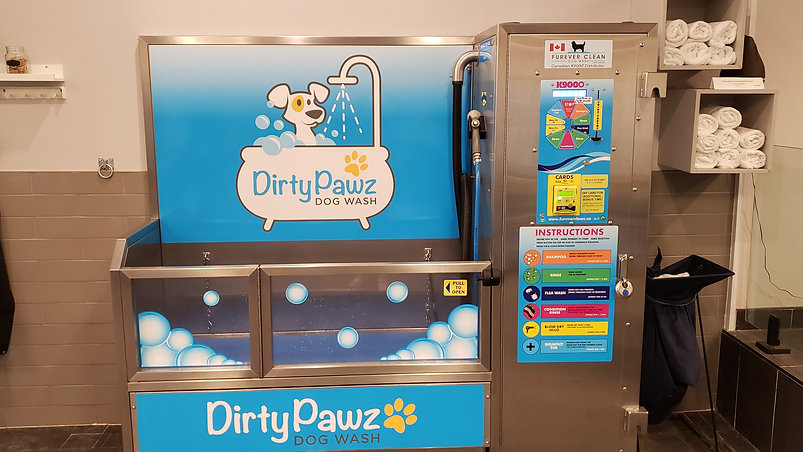 Dirty Pawz Dog Wash Highlight Video