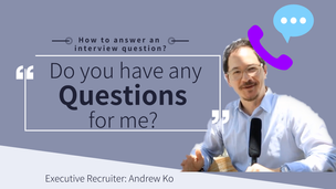 How to answer: do you have any questions for me?