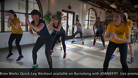 Joaniefit Wilmington Brew Works Leg Burn Clip