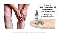 ODORE Magnesium Oils (Part 3)