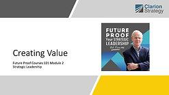 SL101-Mod2-Creating Value