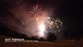 Feu d'artifice |Bois-Le-Roi (77) |13 Juillet 2020