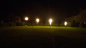 Torchères de Flammes
