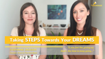 PURPOSE DRIVEN LIFE #2 | Steph Dickson - Taking Steps Towards Your Dreams - with Sarah Lal