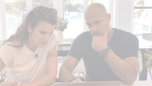 Meet the Hosts - Making Space   Natasha + Dario