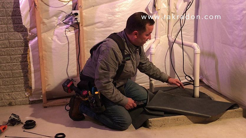 Rak Radon Sump Pump Cover Instructions