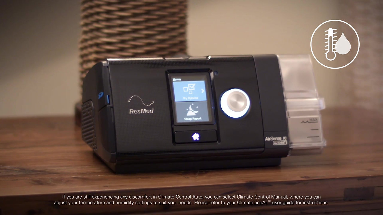 AirSense 10 AutoSet Humidification