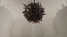 """""""Covid_19 - Universe"""" - Chocolate Installation"""