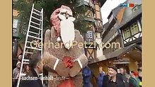 TV-MDR - Weltgrößter Schokoladen-Weihnachtsmann von Künstler Gerhard Petzl