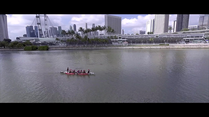 Dragon Boat Teambuilding with VOIS
